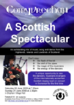 Scottish Spectacular Concert flyer